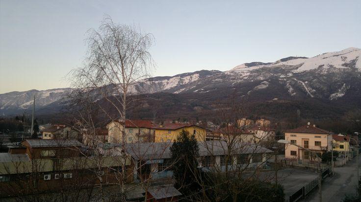 Winter at Aviano, Italy