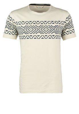 T-shirts med print - white asparagus