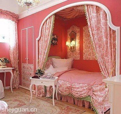 Ρομαντικά υπνοδωμάτια σε ροζ σομόν | MeaColpa