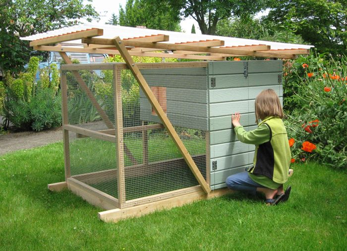 Chicken tractor plans to build portable chicken coop for Mobile chicken coop plans