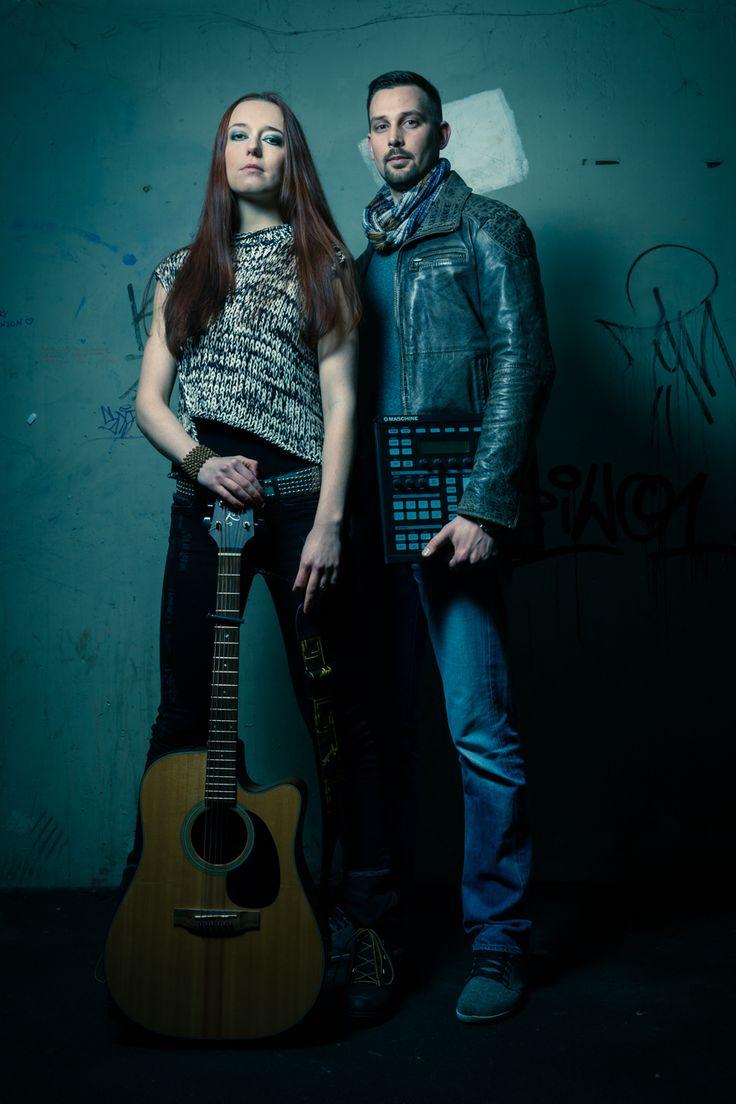 Musikershooting in München.  #Musiker #Gitarre #Band #Duo