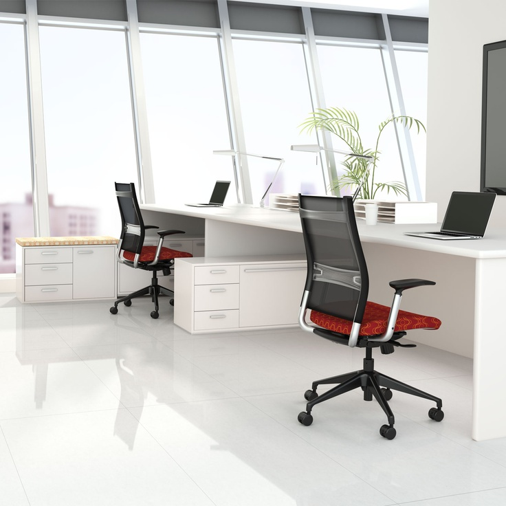 Sitonit Wit Work Chair Office Seating Chair