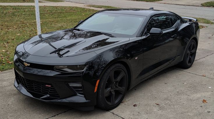awesome Awesome 2016 Chevrolet Camaro 2SS 2016 Chevrolet Camaro 2SS Black 6500 miles Chevy V8 Auto Leather Sunroof 2017 2018