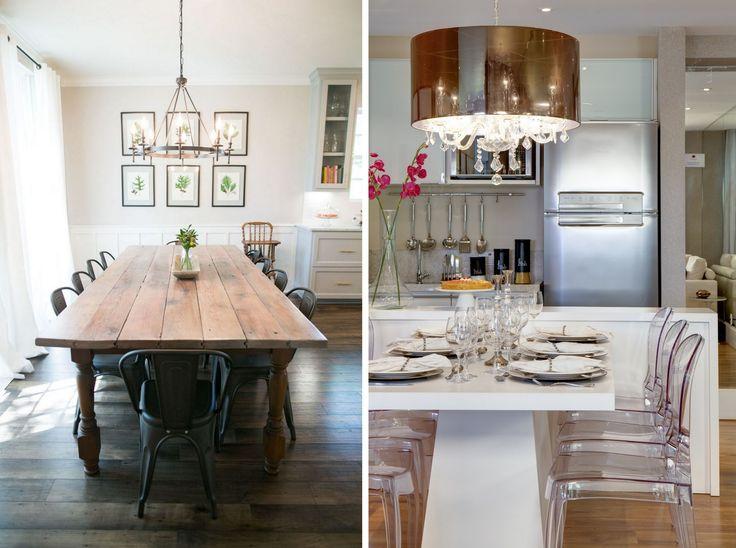 Традиция требует, чтобы обеденный стол и стулья вокруг него были комплектом,  состоящим из моделей одной линейки. Однако интерьер столовой и кухни – отличное  место, чтобы поэкспериментировать, да и современные оформители говорят о  том, что самые инте...