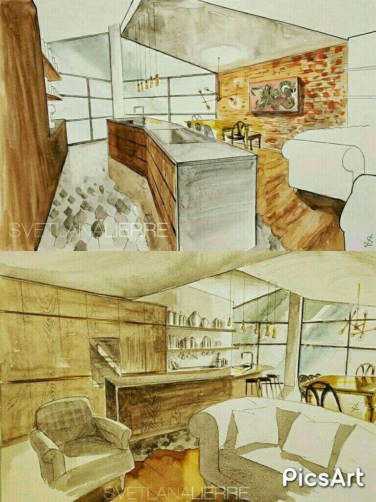 Contemporary McCarron&Co kitchen. Design by Richard McGee.