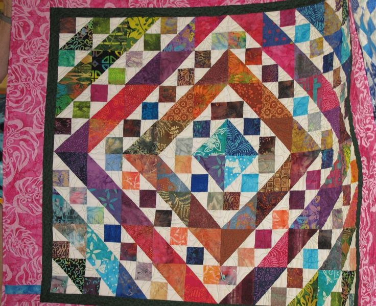 Carol's charity project quilt