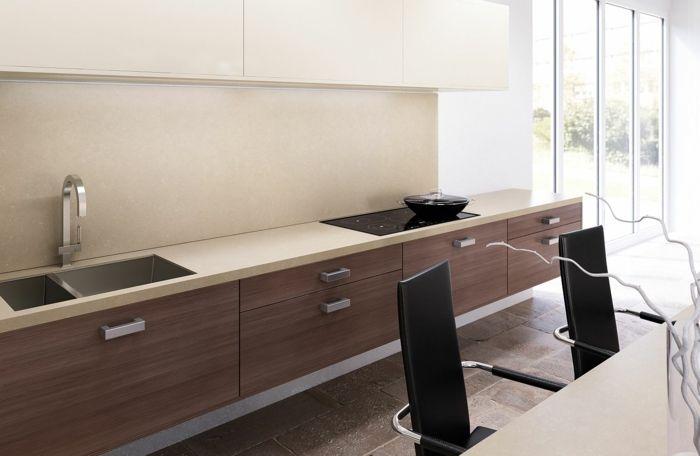 Keramikarbeitsplatten – Was macht Keramik so einsatzbereit aus? - keramikarbeitsplatten küche gestalten lechner arbeitsplatten aus keramik
