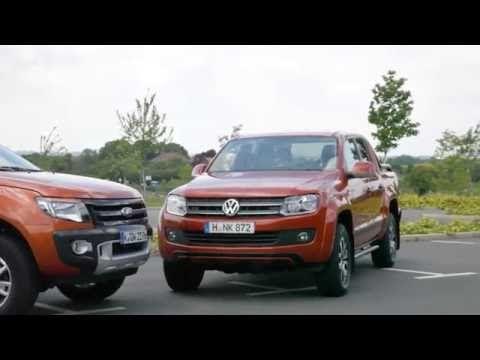 VW Amarok 2016 vs Ford Ranger Test deutsch PickUp Truck Review und Vergleich Technische Daten - YouTube