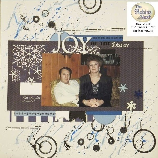 Chattering Robin's: Fabulous projects using Robin's Nest Winter Collection