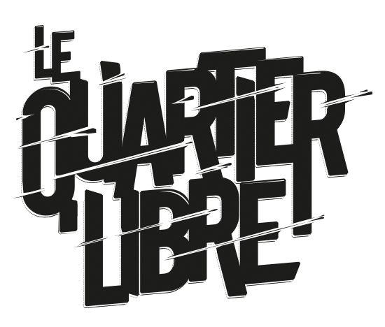"""Seconde proposition de logotype pour le groupe de hip hop """"le quartier libre"""""""
