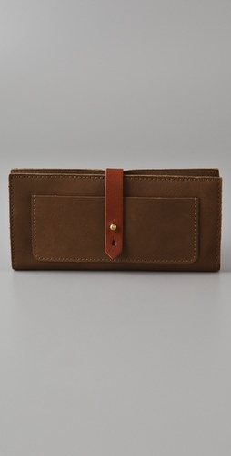 Madewell Two Tone Checkbook Wallet $68