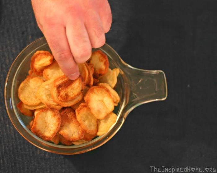 Homemade Potato Chips using ActiFry