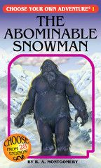 The Abominable Snowman -- Choose your own adventure