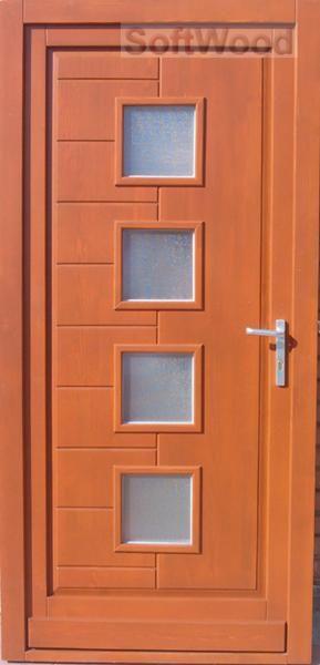 BEJ033 Fa bejárati ajtó