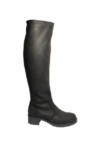 Pavement Augusta black lang støvle - Sko/støvler - MaMilla