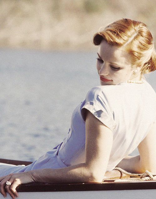 When she realizes she's about to marry the wrong man. Rachel McAdams, The Notebook.