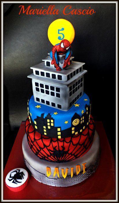 spider man cake - CakesDecor