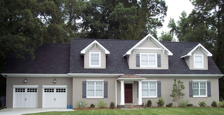 Kolby Construction Charlotte: Second Story Addition With Craftsman Style Dormers & Board