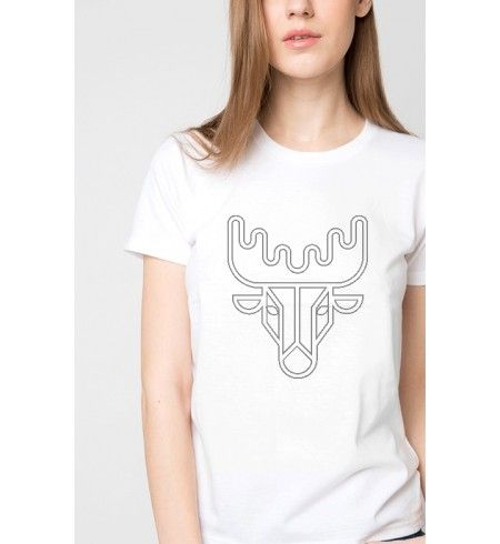 Szarvasos női póló