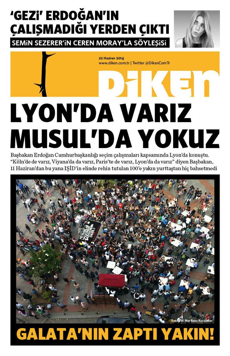 Lyon'da varız Musul'da yokuz