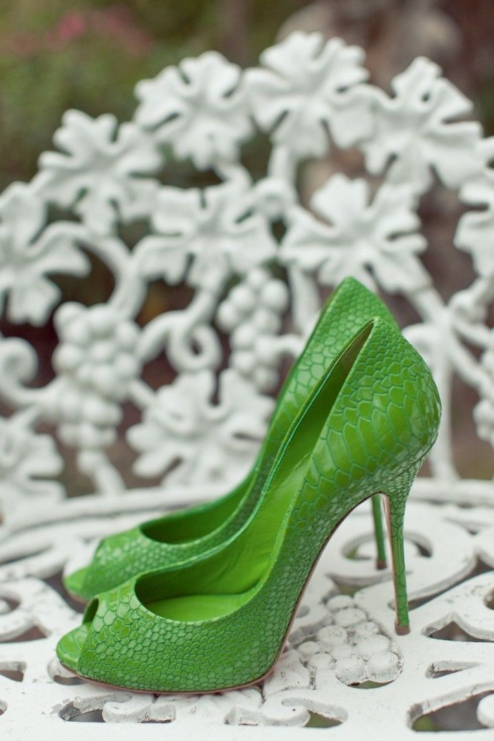 wedding shoes; photo: Carlie Statsky