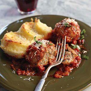 Roman-Style Meatballs with Gnocchi alla Romana ~ the best!Alla Romana, Romanstyl Meatballs, Fun Recipe, Italian Food, Style Meatballs, Meatballs Recipe, Gnocchi Alla, Comforters Food, Romans Style