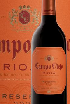 Another great wine to start happy with...............Produced in a typical Rioja style, Campo Viejo displays a fruit-driven influence. The wines show good fruit concentration and balance influenced by the use of American oak, which is the hallmark of Campo Viejo. The wine expresses a complex nose of blackberry, cherry, and black plum balanced with aromas of clove, pepper, vanilla, and coconut. On the palate, it is a smooth, full, elegant, and balanced wine with a long finish.