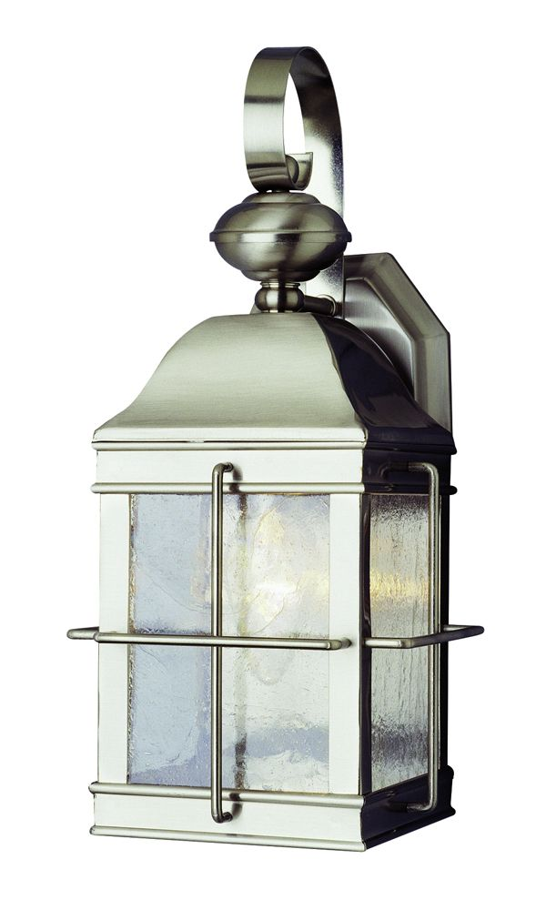 Shop For The Trans Globe Lighting 4632 BN Brushed Nickel Traditional Single Light Down Outdoor Wall Sconce And Save