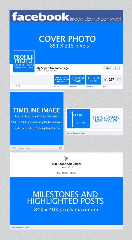 best 25+ facebook photo size ideas on pinterest  social media