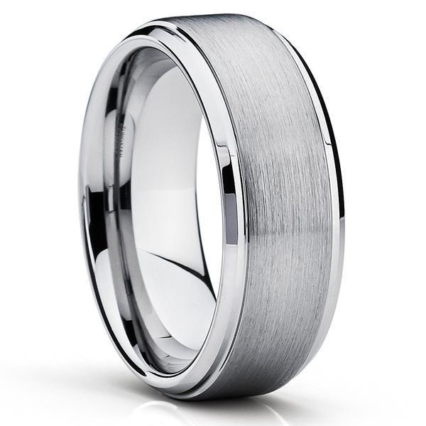 Custom Engraved Tungsten Carbide Rings