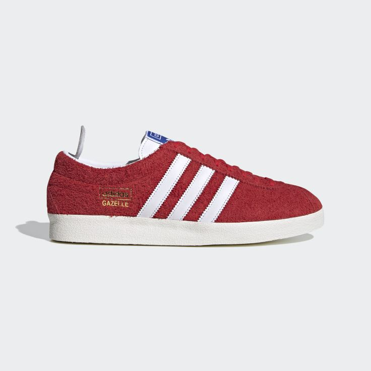adidas Gazelle Vintage Shoes - Red | adidas US | Chaussures adidas ...
