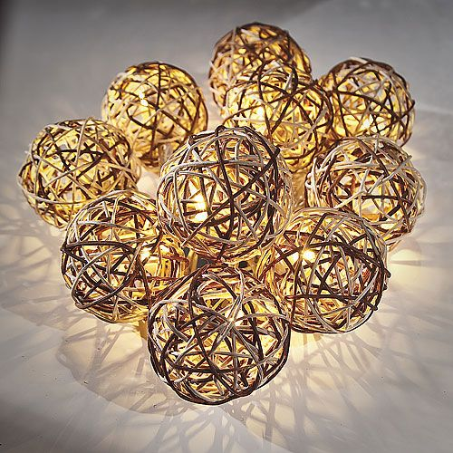 Rattan Ball String Lights Target : 16 best images about Holiday-Party Decorations on Pinterest Paper lanterns, Glass vase and Vase