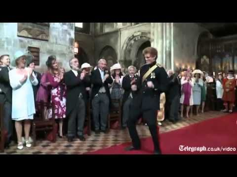 East 17's House of Love blasting out of the sound system, Prince William  leapfrogging over brother Harry and Kate Middleton dancing down the aisle, it is the Royal Wedding, but not as you know it.