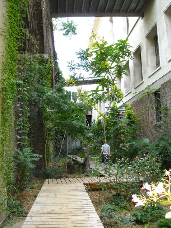 10 images about 01 paysage coeur d 39 ilot on pinterest secondary schools prado and urban - Le jardin sauvage maintenay montpellier ...
