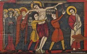 Resultado de imagen de pintura del arte paleocristiano