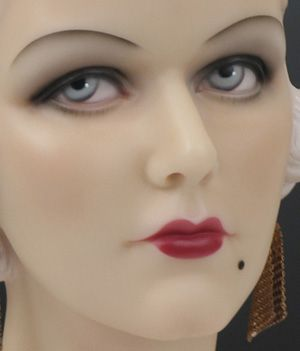 Mannequin Head from the 1930's