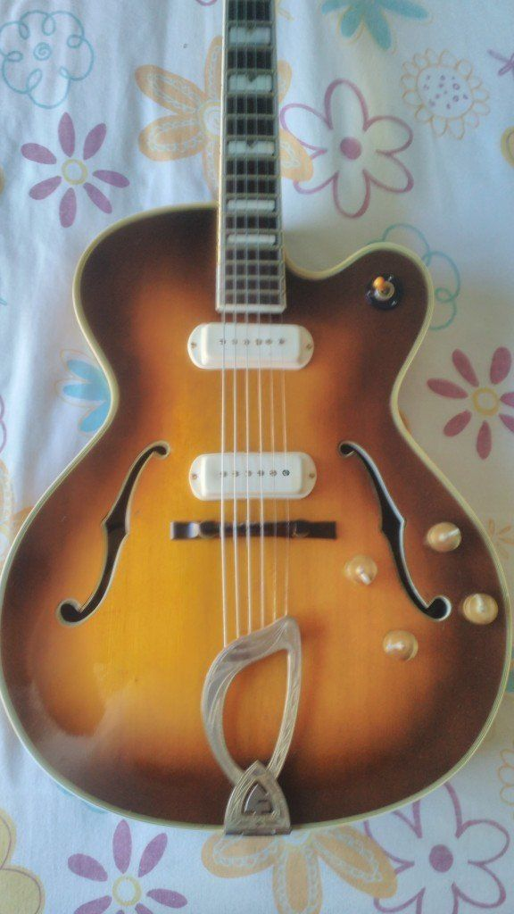 Guild X500 (1957) vintage electric guitar
