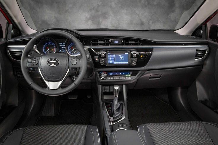 10+ Cool 2014 Toyota Corolla S Inside Views