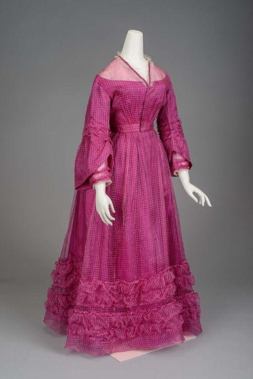 Day Dress 1868-1870 MFA