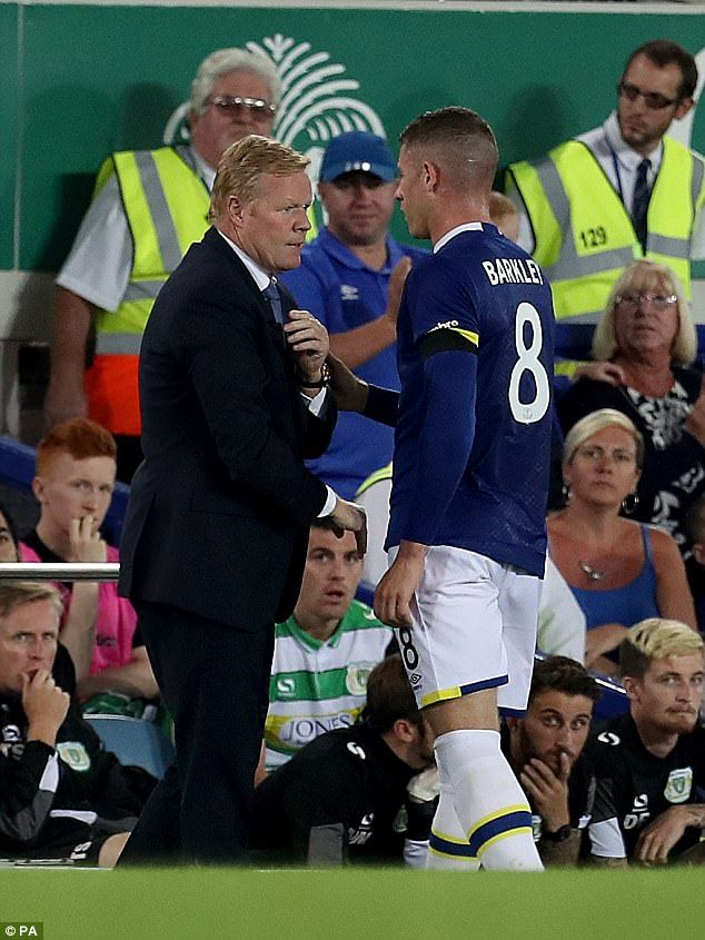 Everton manager Ronald Koeman has confirmed Ross Barkley will leave the club this summer