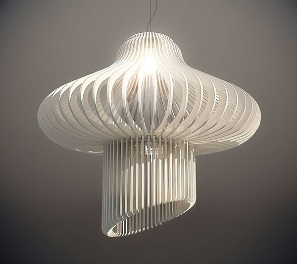 Medusa / Radiolaria - Lighting Design Project on Behance