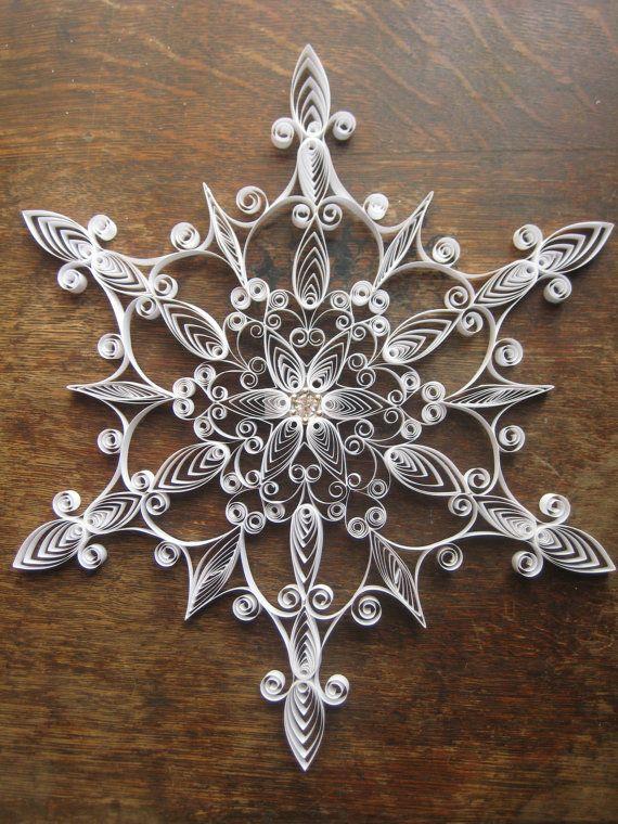 20 large snowflakes