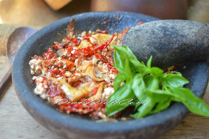 Diah Didi's Kitchen: Sambal Tahu