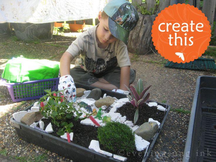 Best Dinosaur Garden Ideas On Pinterest Miniature Gardens