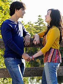 Joe Jonas & Demi Lovato Up the Romance in Camp Rock 2 - Camp Rock ...