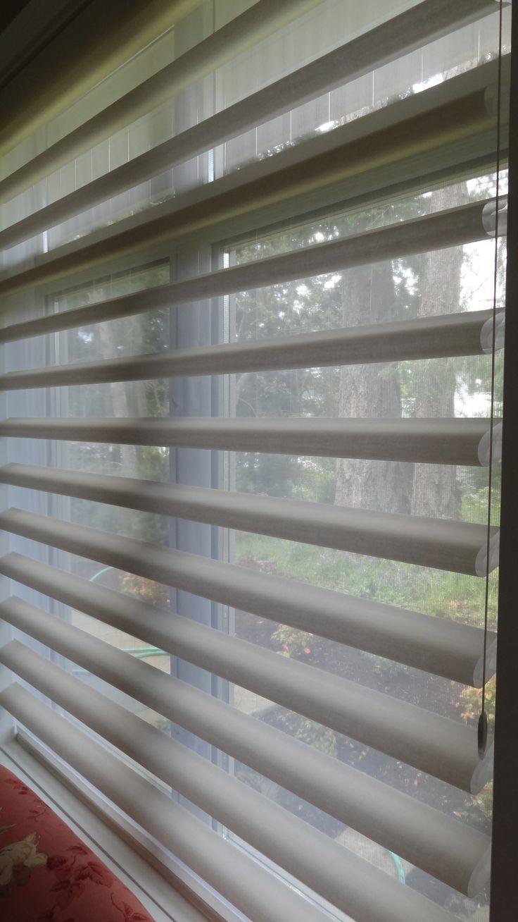 Hospitality and hotel window treatments sheer shades solar screen - Pirouette Shades From Hunter Douglas Available At Fasada Www Fasada Ca