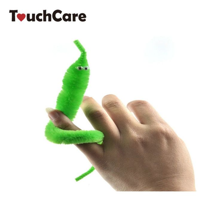 Magicians Toy Baralho Mr.fuzzy Magical Worm Magic Trick Twisty Plush Wiggle Stuffed Animals Street Toy For Kids Gift 21cm
