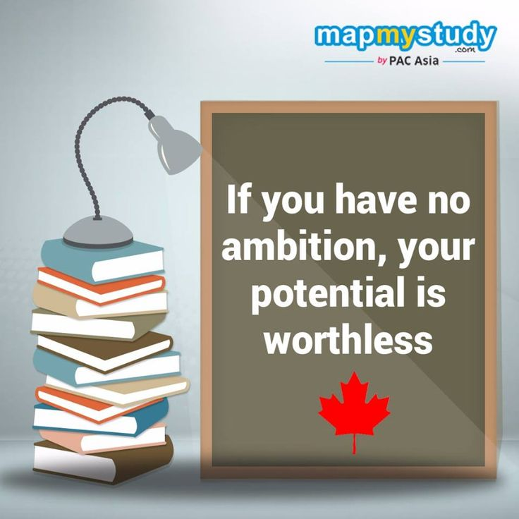 A wise man will make more opportunities than he finds. Don't let go of the opportunity to gain education from one of the best destinations in the world. Contact us now!  https://www.mapmystudy.com/study-in-canada/
