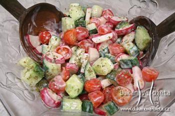 Jarní salát Dukanova dieta