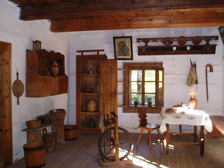 Oravská dedina / interiér domu/ Slovakia